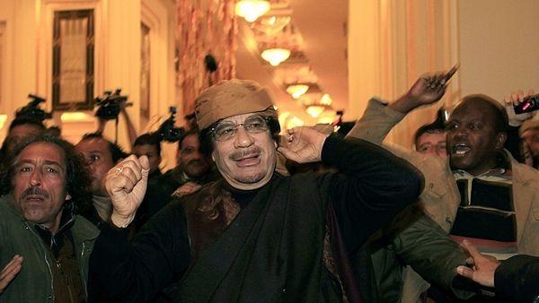 Kaddáfí vs. opozice
