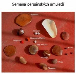 Semena peruánských amuletů
